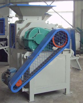 Fluorite powder ball press machine