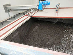 Xinxiang Waste Water Sludge Drying Site By