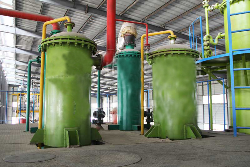 Pyrolysis oil refining/pyrolysis equipment